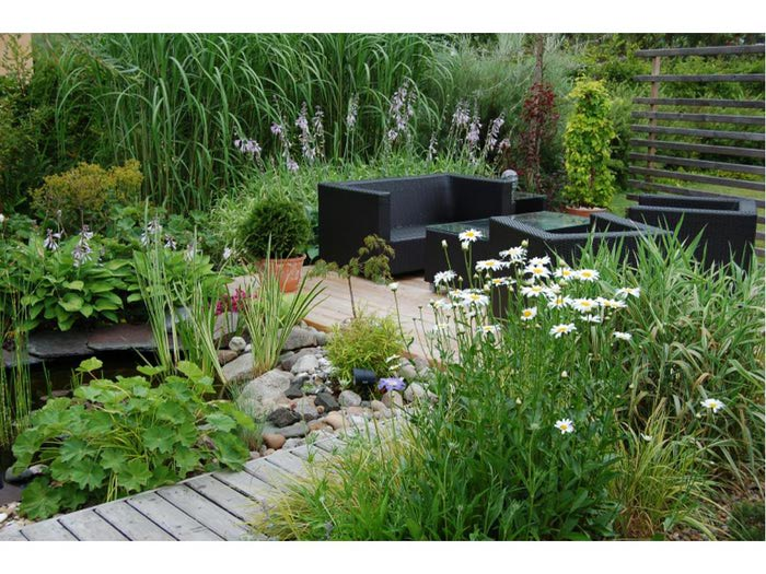 "Сад в стиле модерн - Ландшафтный дизайн "" Мобилизация"