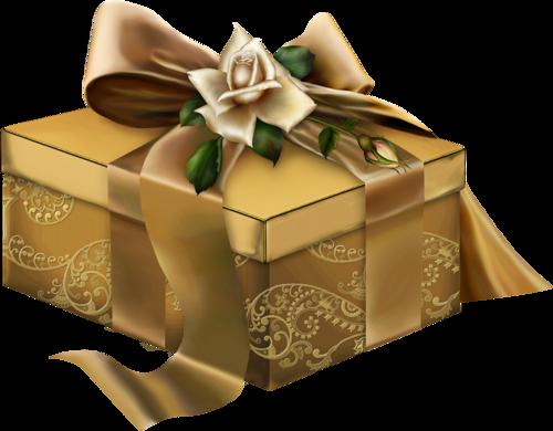 Картинка анимация подарок в коробке 41