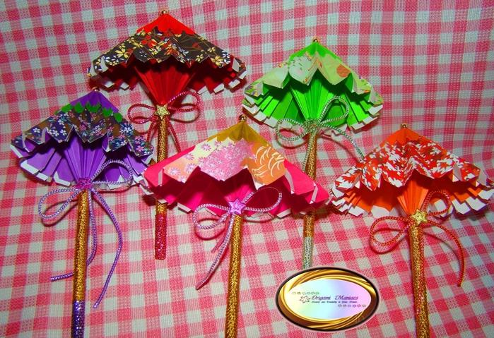 Японский мастер класс оригамие сделай сам #7