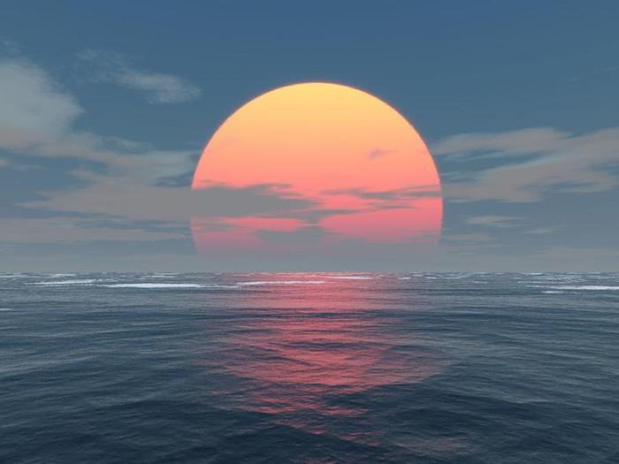 Sun is rising (700x525, 56Kb)