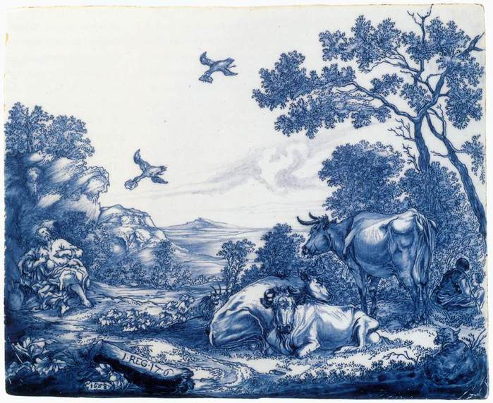 4000579_Delftware_plaque_with_the_Prophet_Elijah_fed_by_the_Ravens (700x571, 84Kb)
