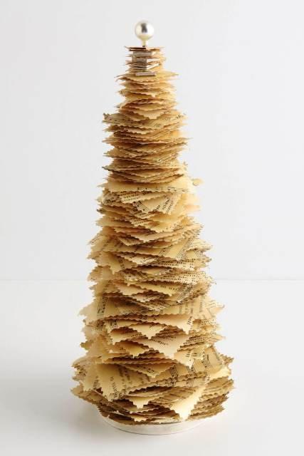 Бантики своими руками из бумаги на елку