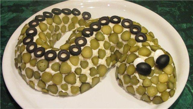 Салат змейка рецепт приколы