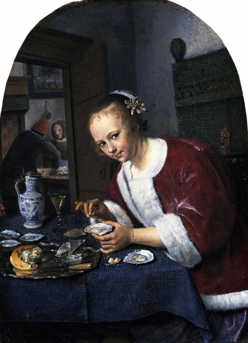 4000579_Girl_Offering_Oysters (506x700, 273Kb)