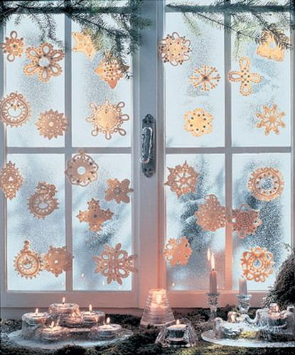 Идеи к новому году на окна