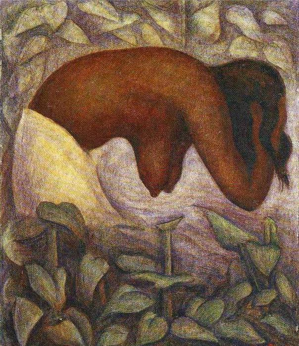 Bather of Tehuantepec, 1923 (604x700, 126Kb)