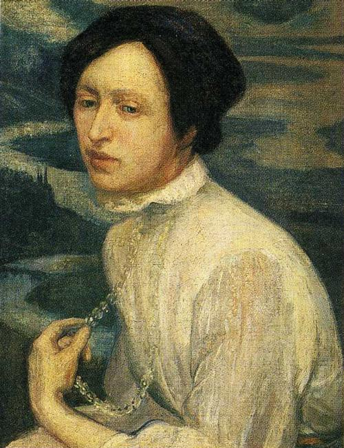 Portrait of Angelina Beloff, 1909 (500x650, 97Kb)