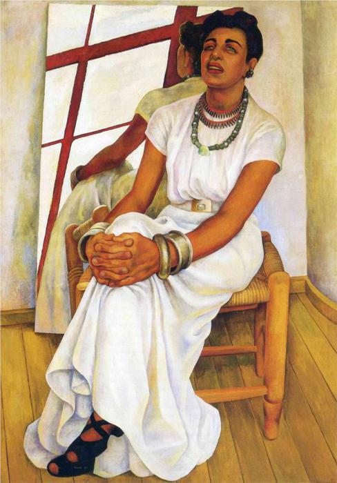 Portrait of Lupe Marin, 1938 (488x700, 54Kb)