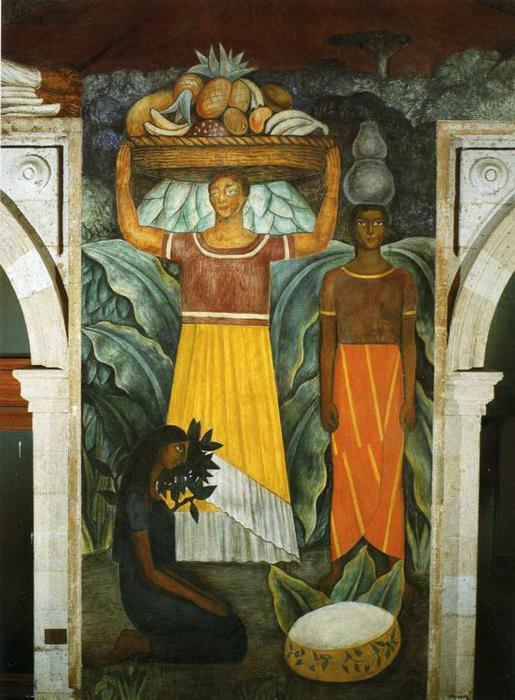 Tehuana Women, 1923 (515x700, 67Kb)