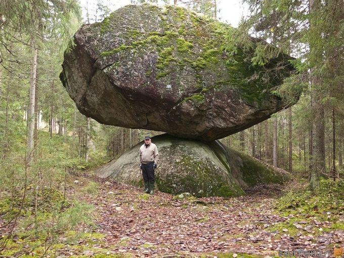 камень Куммакиви финляндия фото 2 (680x510, 121Kb)