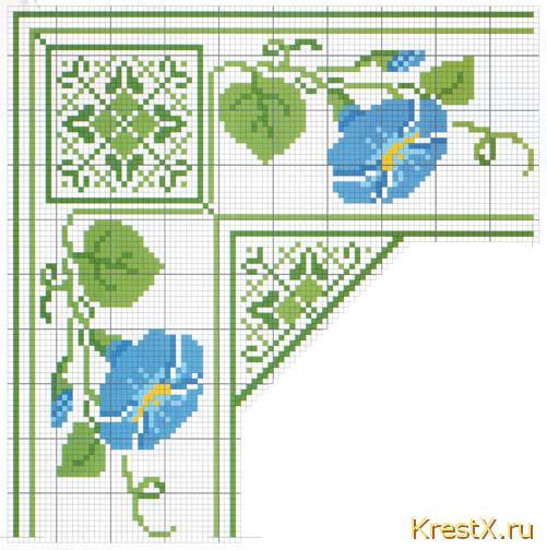 Несколько Метки: вышивка вышивка крестом вышитые салфетки схема вышивки крестом Метки: вышитые салфетки схемы...