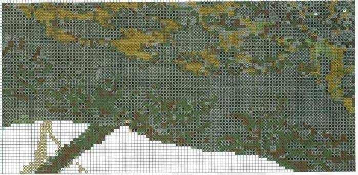 Вышивка крестом леопарды схема 83