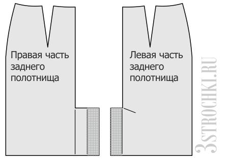 Шлица выкройки