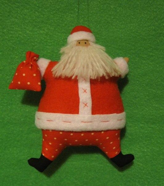 Дед мороз шьем своими руками