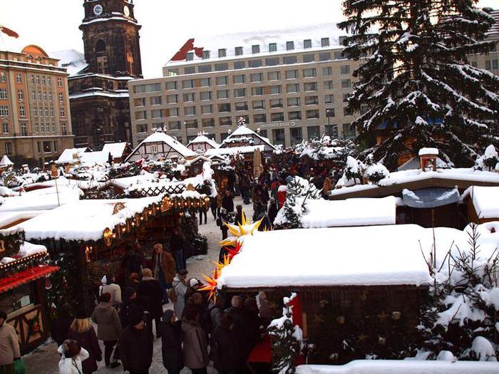 Больная рождественская ёлка Дрездена. 88493