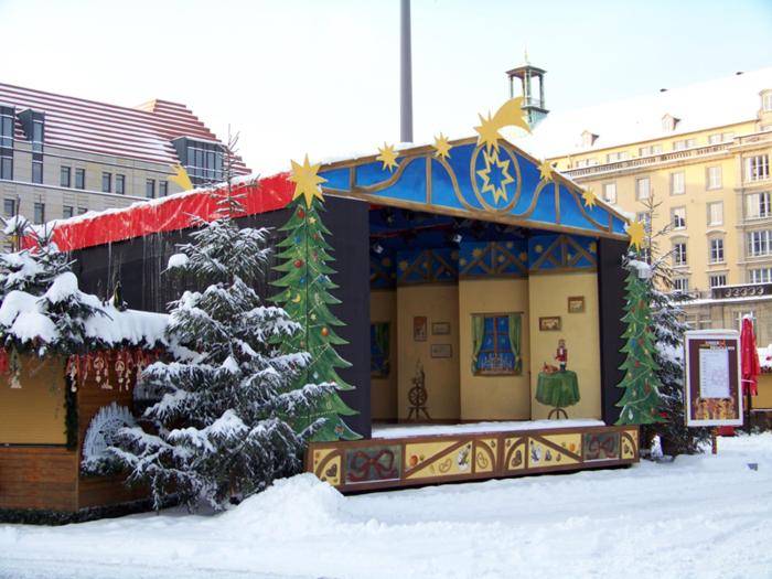 Больная рождественская ёлка Дрездена. 76920