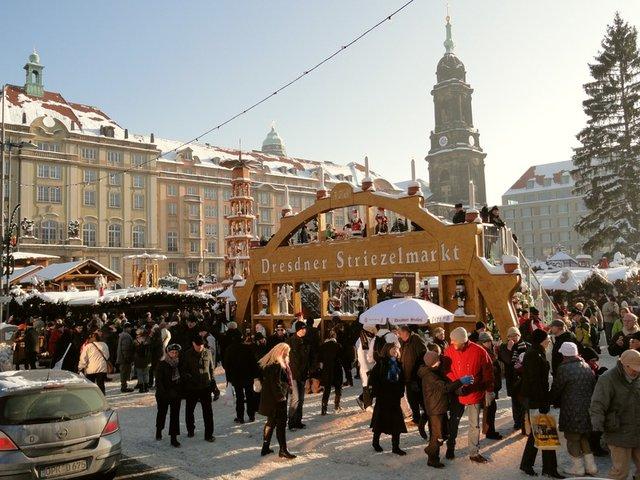 Больная рождественская ёлка Дрездена. 52680