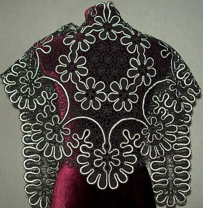 Косынка спицами. Несколько схем вязания косынки 86