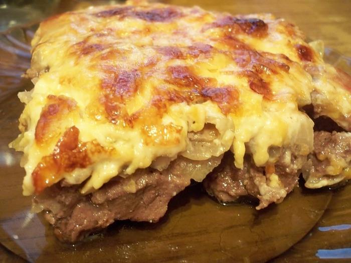 Фарш по-французски с картофелем в духовке рецепт из свинины