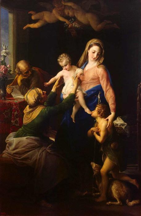 «Святое семейство со св.Елизаветой и Иоанном Крестителем» 1777 (457x700, 65Kb)