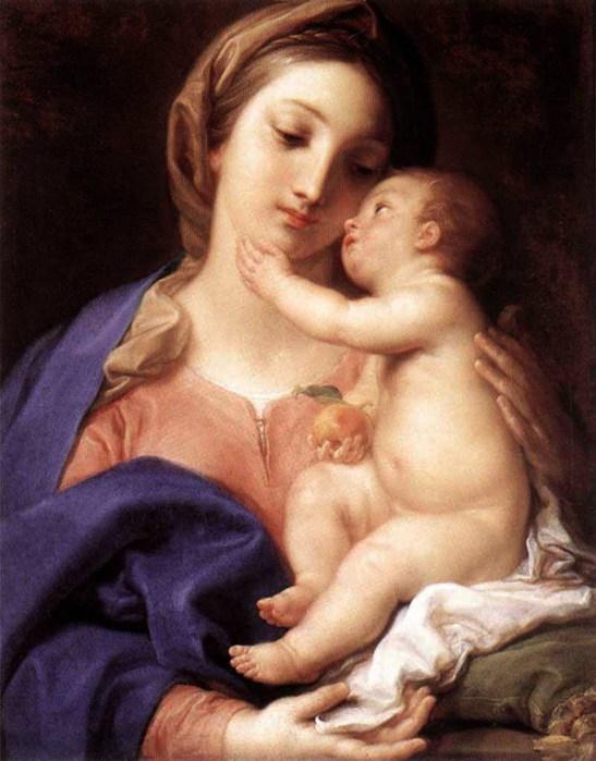 «Мадонна с младенцем» ок. 1742 (547x700, 88Kb)