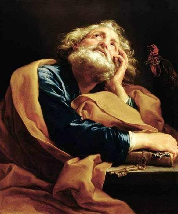 «Святой Петр» (583x700, 97Kb)