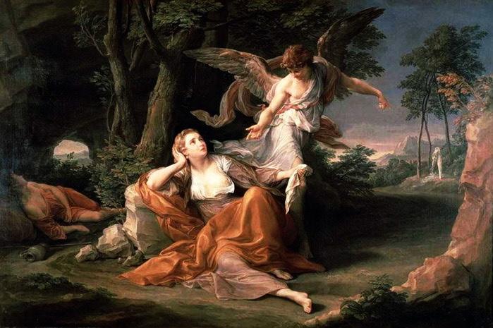 «Явление ангела Агари» (700x465, 102Kb)