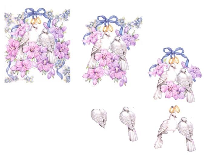 colombe et fleurs (700x525, 136Kb)