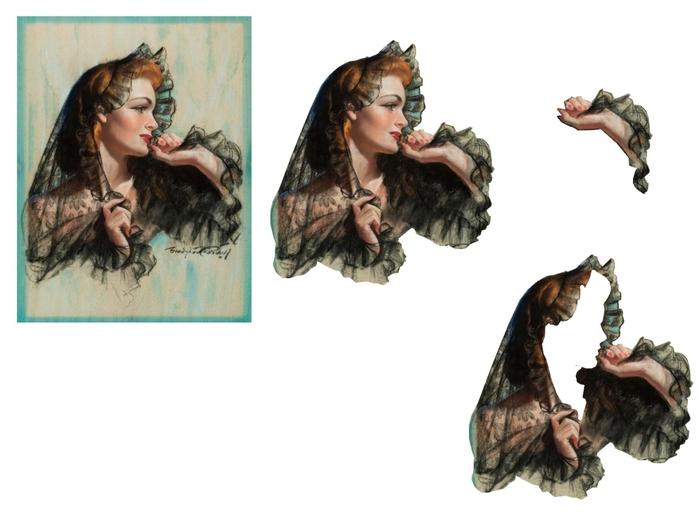femme mantille (700x525, 148Kb)