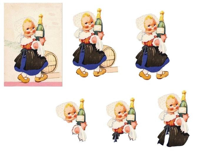 fillette et champagne (700x525, 160Kb)
