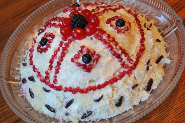 Торт с кислым молоком фото 14