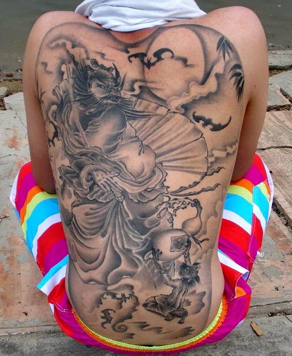 картинки китайские татуировки