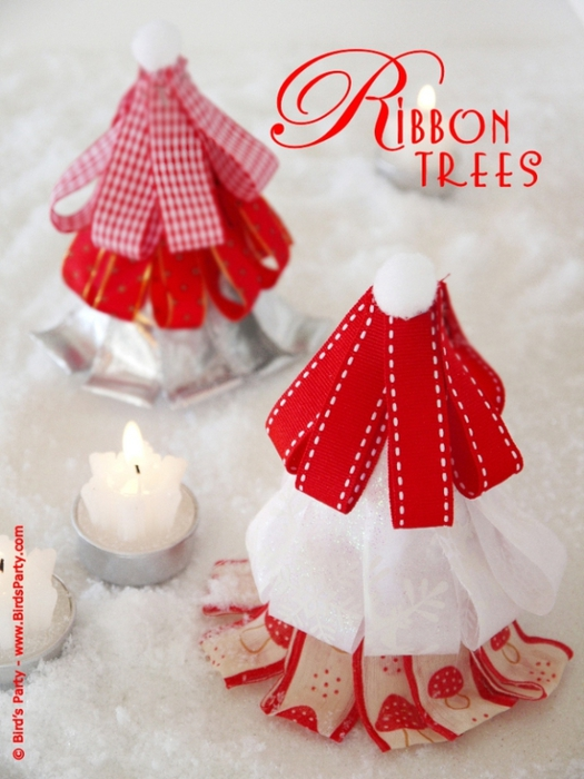 diy ribbon tree tutorial free party printable party ideas3 (525x700, 244Kb)