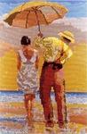 Превью Пара под зонтом (457x700, 191Kb)