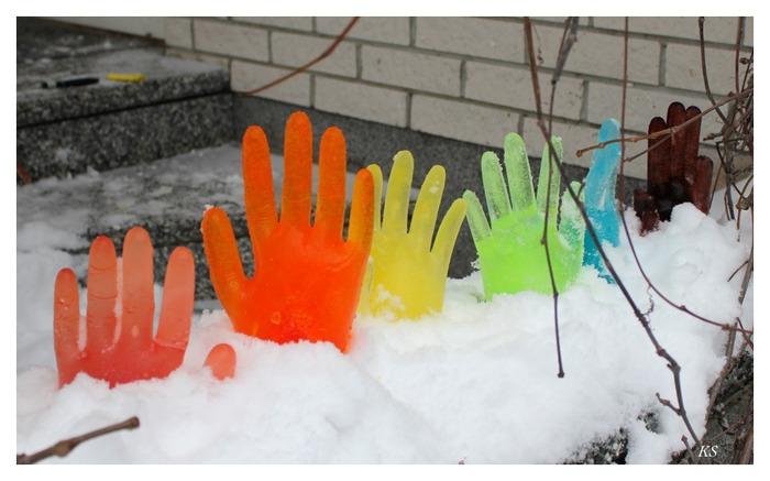 Ледяные поделки для двора 2