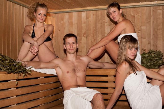 Парнем фото в бане с