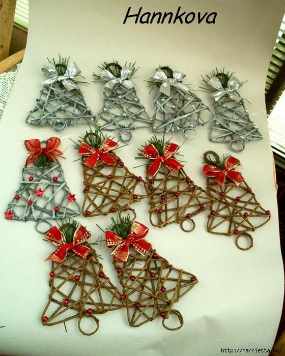 Мастер класс по плетению новогодних игрушек из бисера