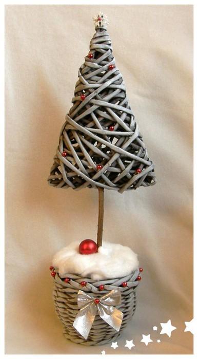 Трубочки иКак украсить игрушки на новый год