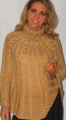 Вязание на спицах кофты пончо схемы и фото | Береты: http://vyazanie-na-spitsah-kofty-poncho-shemy-i-foto.tabrida.ru/