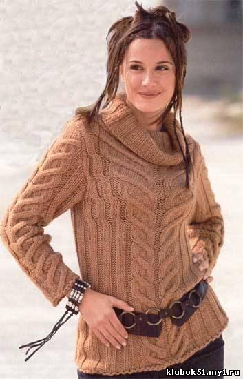 Фото, зимние свитера женские