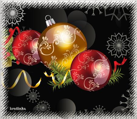 Новогодняя-с-шариками-(черн (450x389, 215Kb)