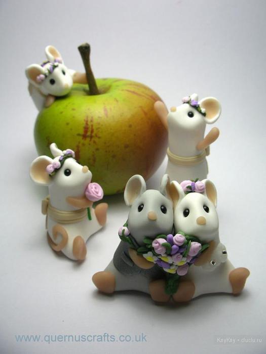 Фигурки из полимерной глины своими руками фото
