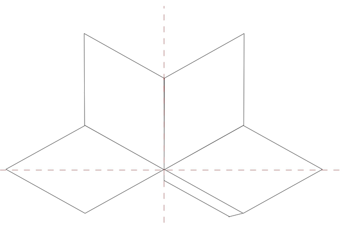 Diamond shape box template (700x494, 37Kb)