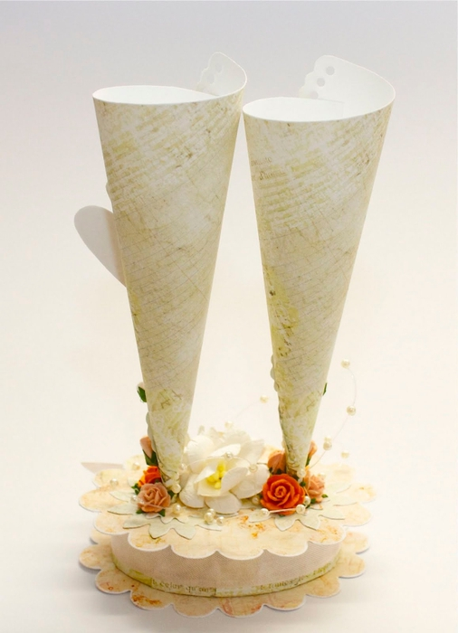 Wedding Two glasses Loriete back (506x700, 173Kb)