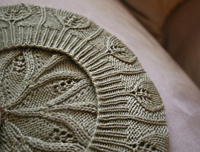 针织蓓蕾帽子 - maomao - 我随心动