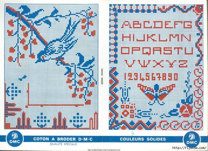 Alphabets et Motifs au Point de Croix N° 4 3 (700x507, 422Kb)