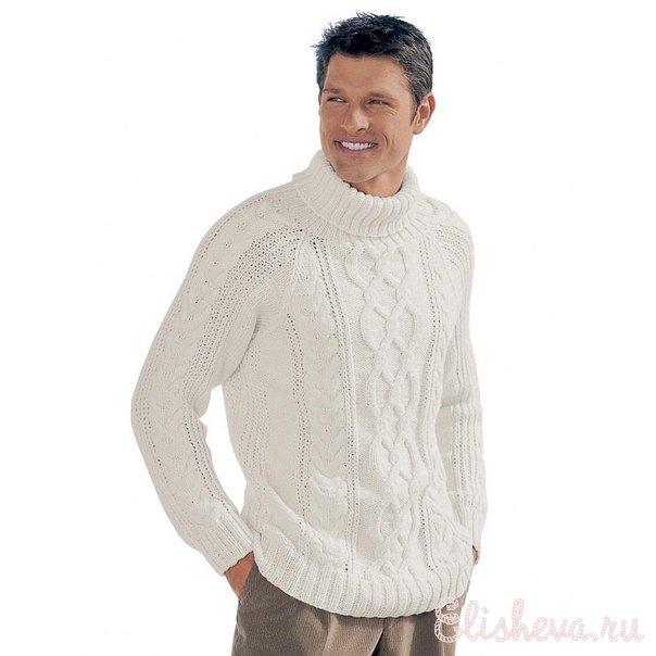 1355327494_sdelay-podarok-lyubimomu-svoimi-rukami.-stilnyy-pulover-vyazanyy-spicami (604x604, 40Kb)