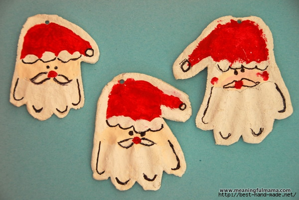 1-salt dough sant with kids handprints craft christmas-001 (600x402, 153Kb)
