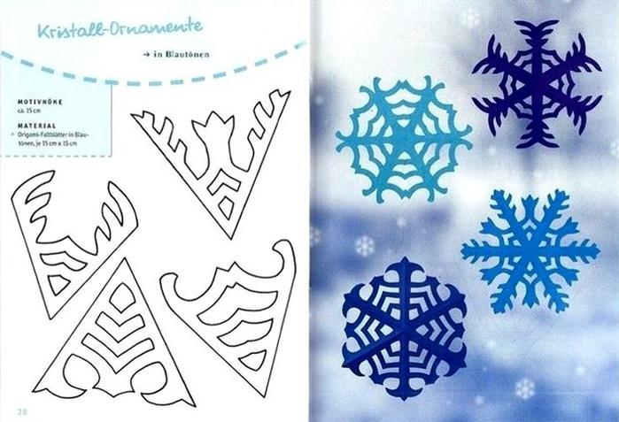 Новогодние трафареты шаблоны