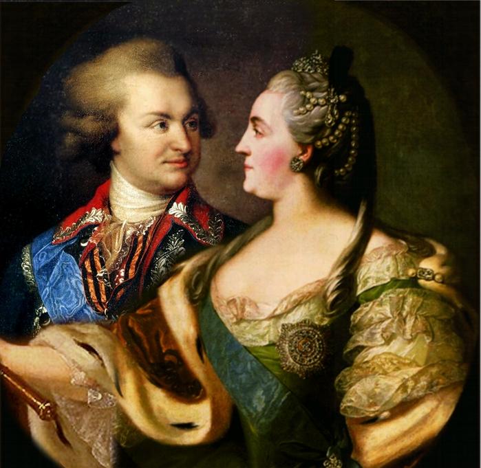 Catherine_II_and_Potemkin (700x681, 340Kb)